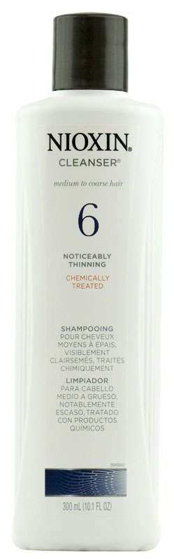 Nioxin System 6 Cleanser for medium to coarse hair 070018007766