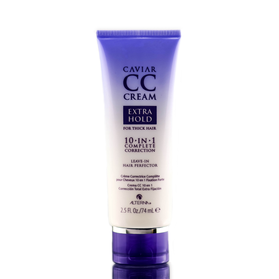 Alterna Caviar CC Cream Extra Hold for Thick Hair 10-in-1 & Leave-In Hair Perfector 873509025191