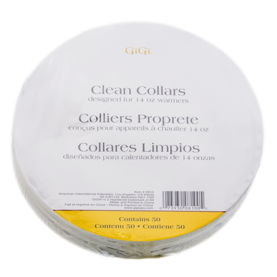 GiGi Wax Warmer Clean Collars 073930081005