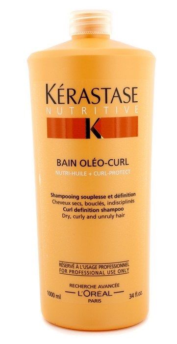 Kerastase Nutritive Bain Oleo-Curl Curl Definition Shampoo for dry curly and unruly hair 3474630224971
