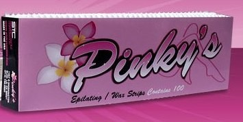 Pinky's Epilating / Wax Strips Contains 100 pky010100