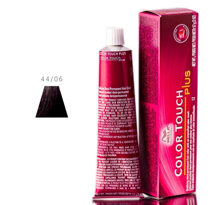 Wella Color Touch Plus Hair Color 070018091277