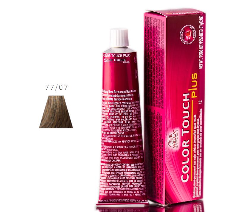 Wella Color Touch Plus Hair Color 070018091178