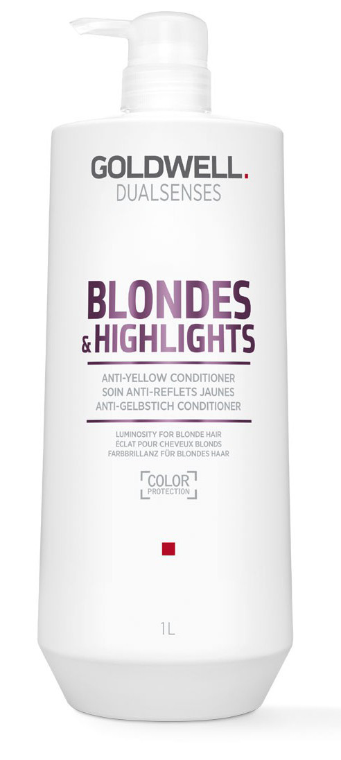 Goldwell Dualsenses Blonde And Highlights Anti-Yellow Conditioner 4021609061229