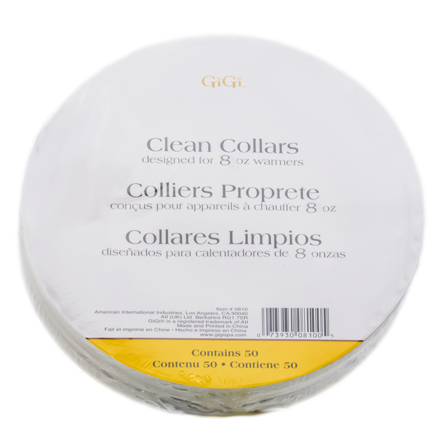 GiGi Wax Warmer Clean Collars 073930080008