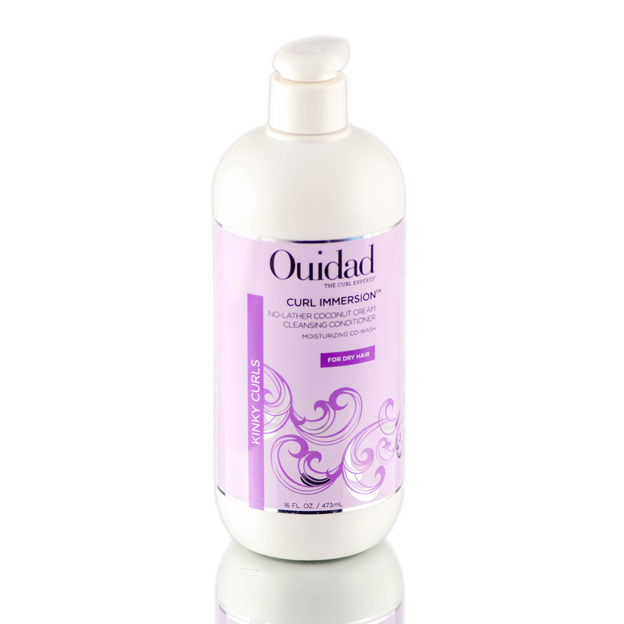 Ouidad Curl Immersion No Lather Coconut Cream Cleansing Conditioner for Dry Hair 814591012041
