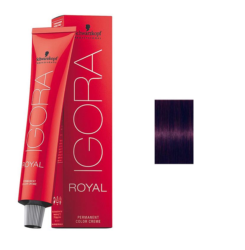 Schwarzkopf Professional Igora Royal Hair Color 7702045538908