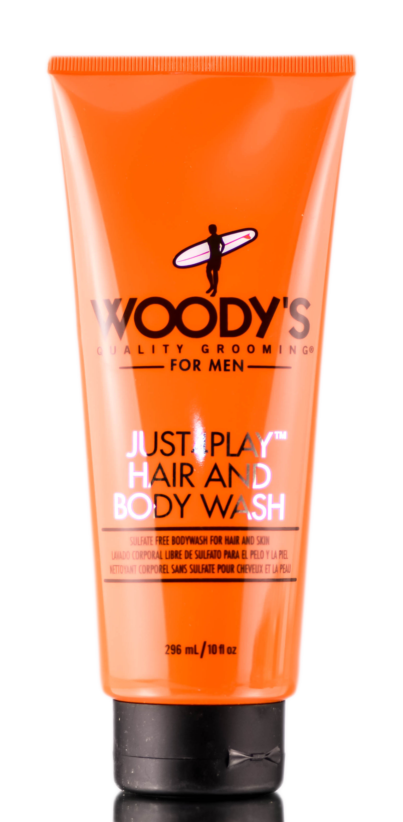 Woody's For Men Just4Play Hair And Body Wash 859999906615