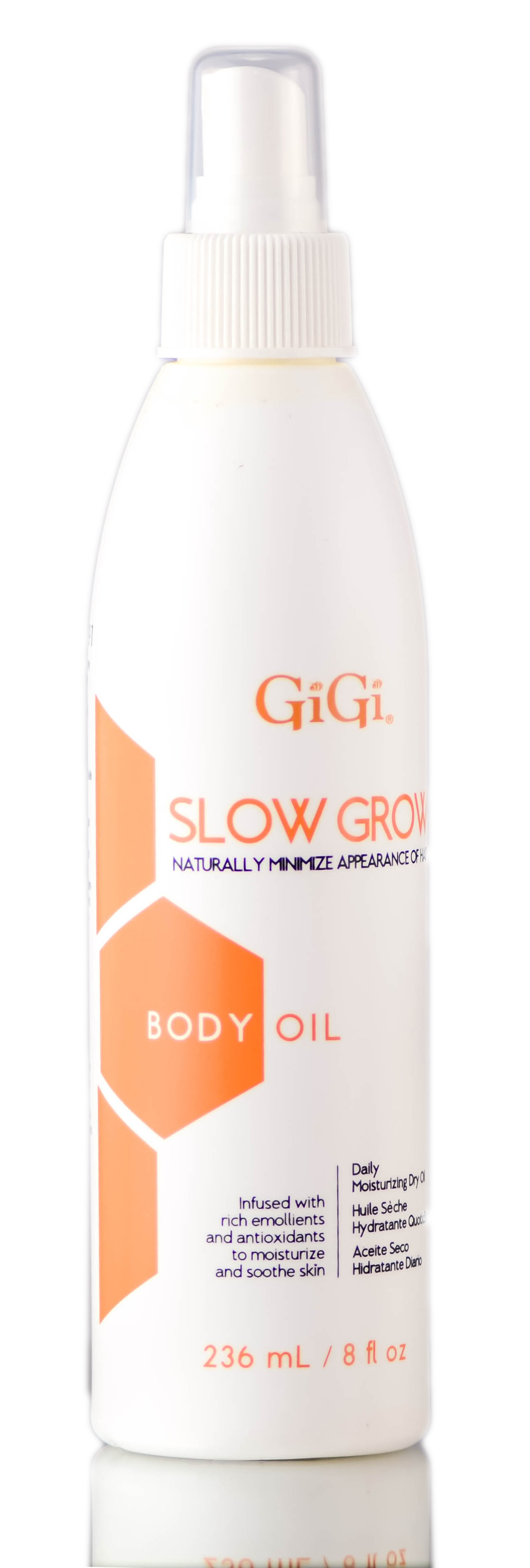 Gigi Slow Grow Body Oil 073930073802