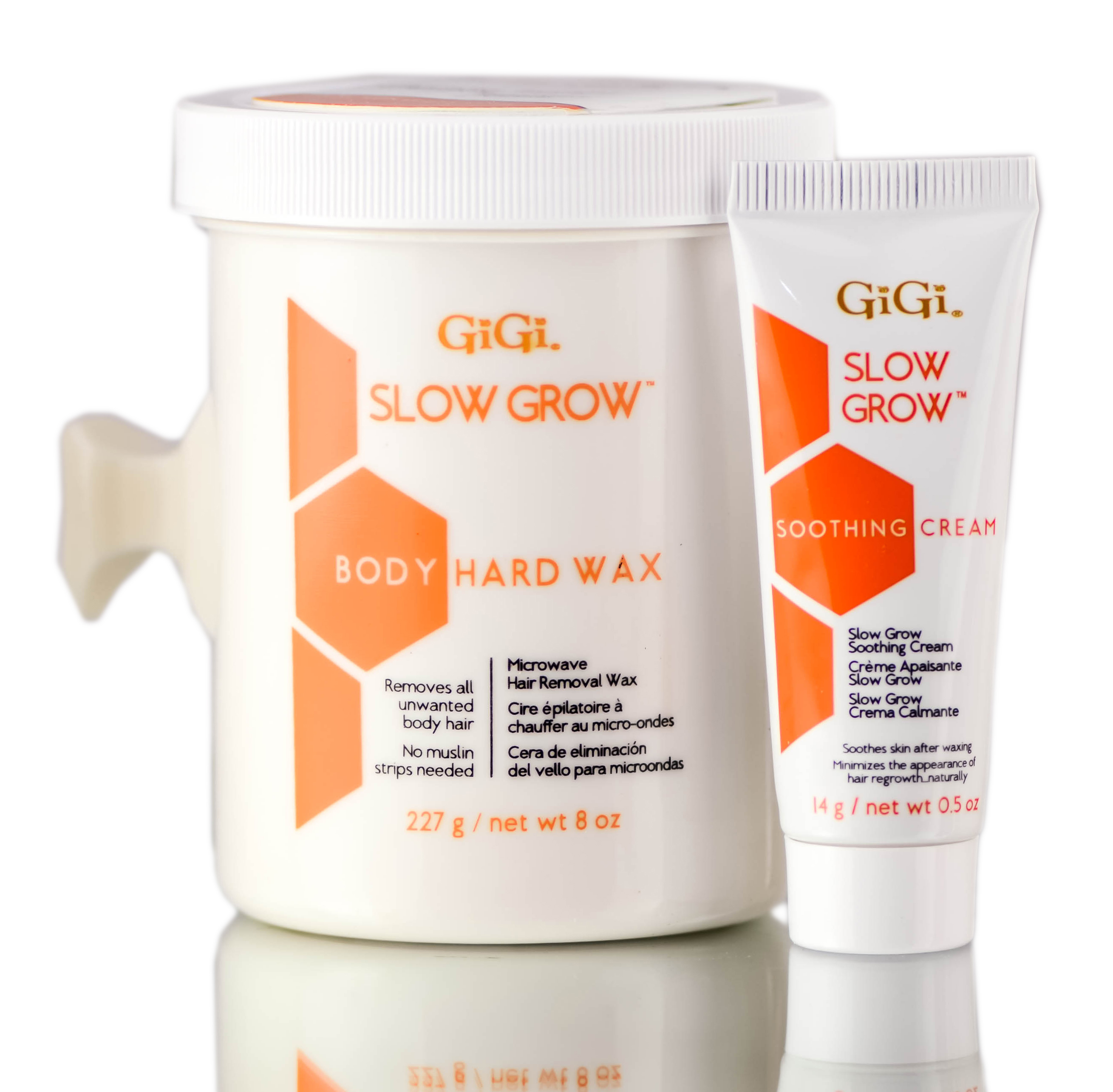 Gigi Slow Grow Body Hair Removal 2-Step System 073930073208