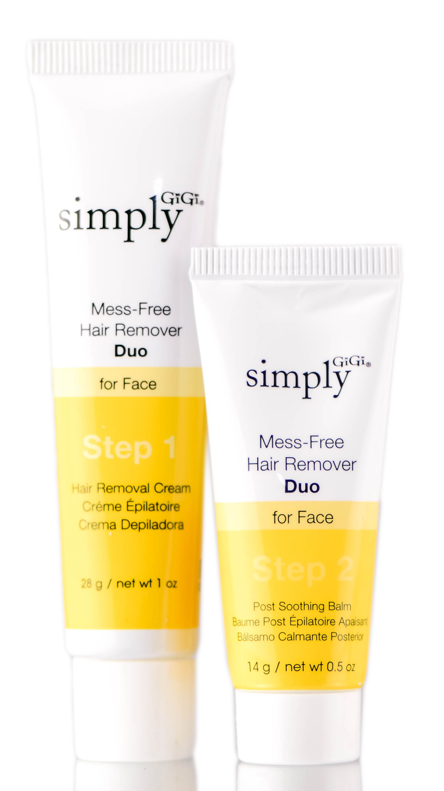 Gigi Simply Mess-Free Face Hair Remover Duo 073930030706