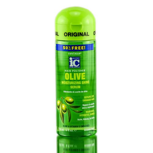 Fantasia ic hair polisher olive moisturizing shine serum fantasia ic hair polisher olive moisturizing shine serum sleekshop formerly sleekhair 6 oz sciox Images