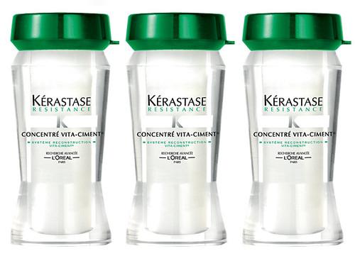 Kerastase resistance concentre vita ciment reconstructive treatment for weakened hair - Kerastase salon treatment ...