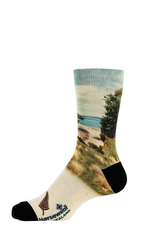 9602 Beach dreams Printed Sock Norsewear