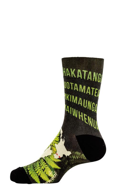 9609 Longest Place name Printed Sock NORSEWEAR