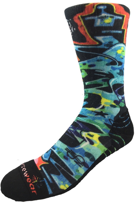 Graffiti Eco Reprieve Sock by Norsewear