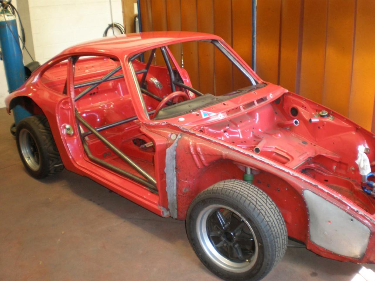 Custom Cages Porsche 911 - Straight Door Bars + Sill Bar - Historic  [T45]