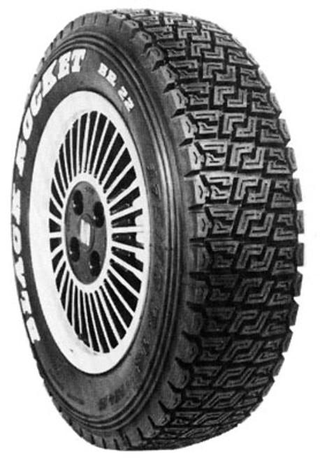Black Rocket gravel rally tire BR 22 175/70-15
