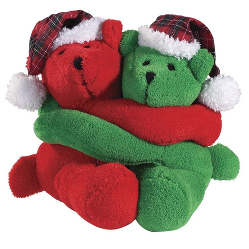 Holiday Hugsters Dog Toys