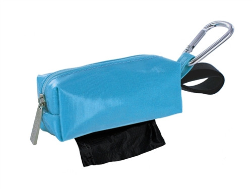Duffel Dog Waste Bag Holder | Blue