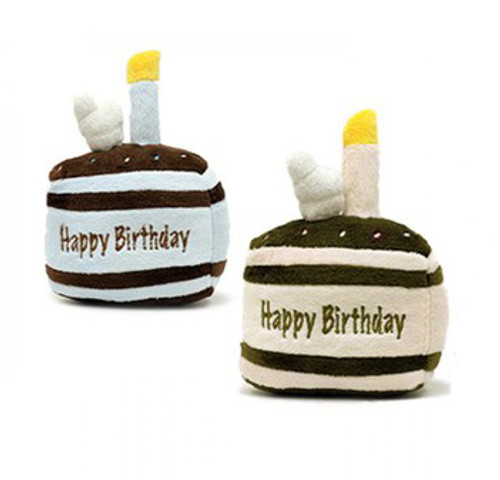 Birthday Dog Toy | Birthday Cake Slice
