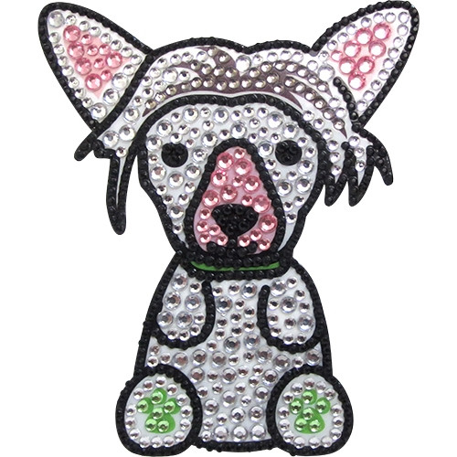 Chinese Crested Phone Sticker