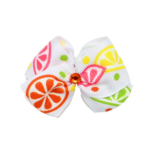 Fruit Slices Hair Bow