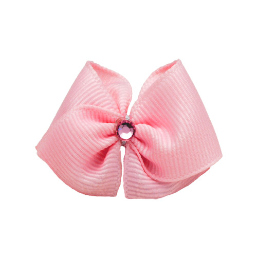 Precious Pink Dog Hair Bow