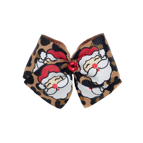 Santa Baby Dog Hair Bow