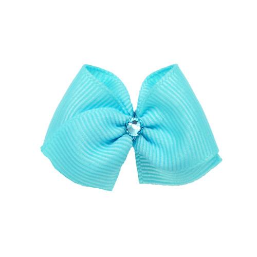 Sky Blue Dog Hair Bow