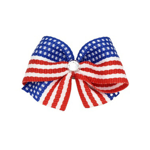 USA Dog Hair Bow