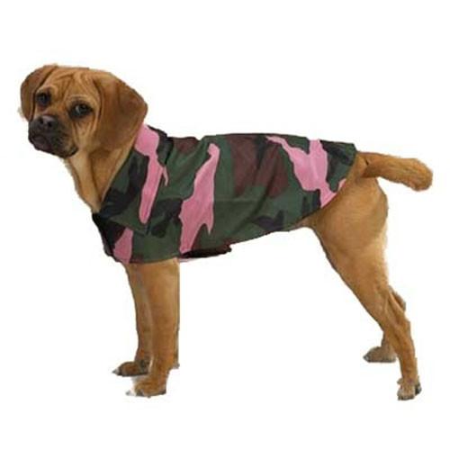 Pink Camo Dog Jacket