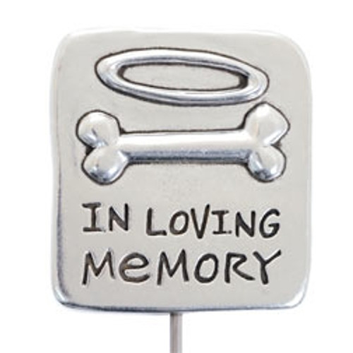 In Loving Memory Pet Memorial Garden Stake