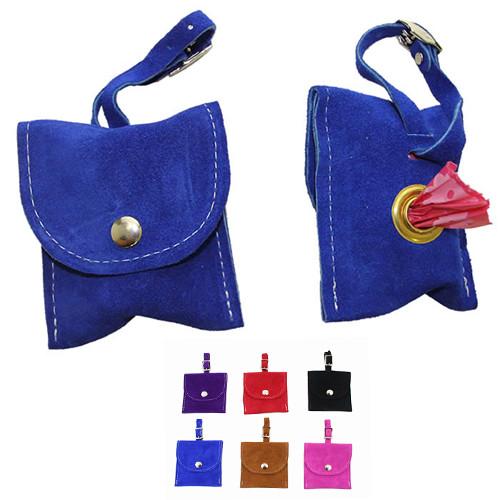 Suede Poo Bag Pouch | 6 Colors