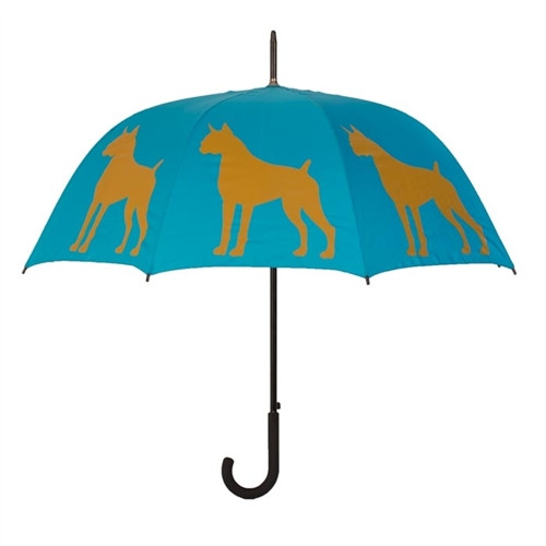Boxer Silhouette Umbrella