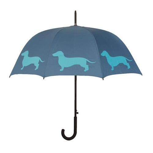 Dachshund Silhouette Umbrella