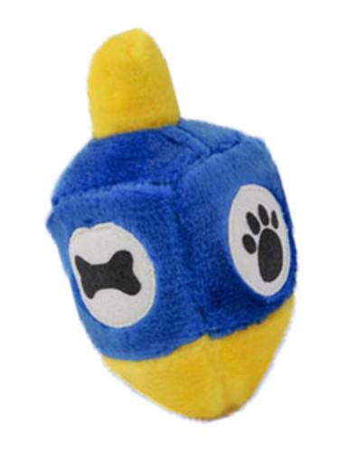 Hanukkah Dreidel Dog Toy
