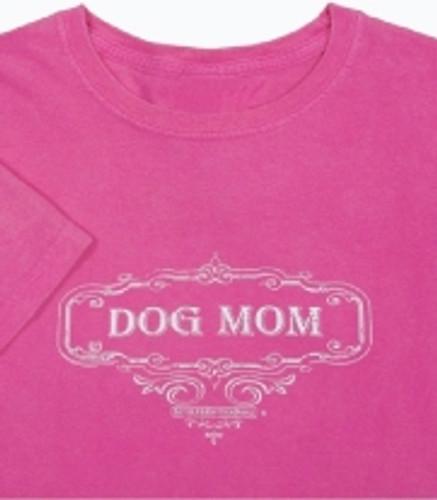 Dog Mom T-shirt - Berry