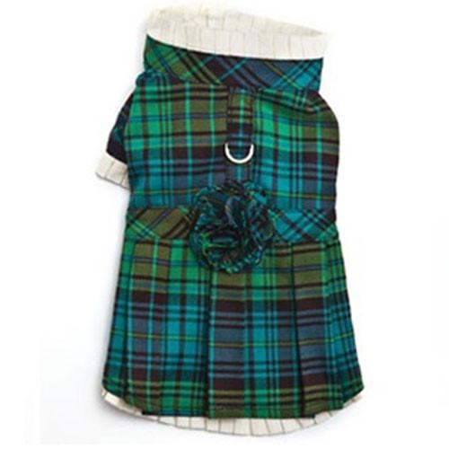Plaid Dress | Green