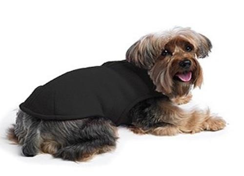 Fleece Shell Dog Coat | Black