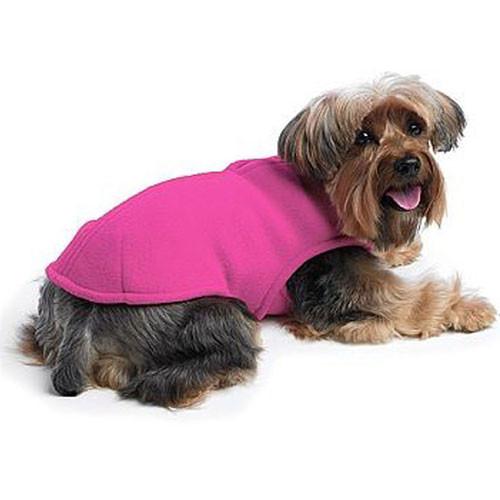 Fleece Shell Dog Coat | Hot Pink
