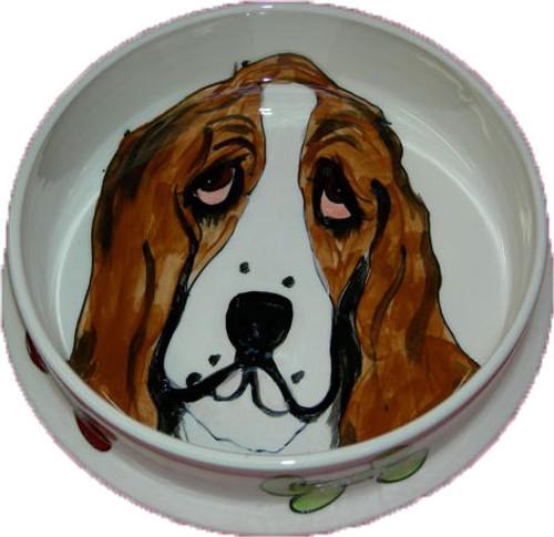 Bassett Dog Bowl