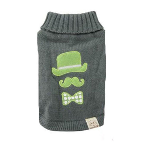 Chaplin Dog Sweater | Green