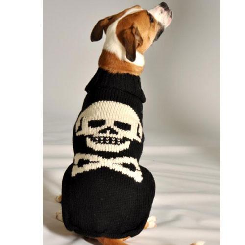 Skull & Cross Bone Dog Sweater