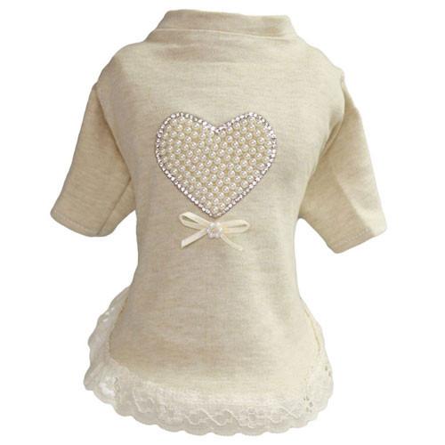 Pearl Heart Baby Dress