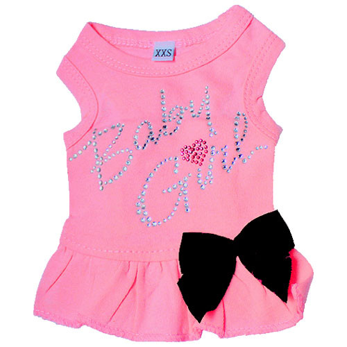 Baby Girl Tank Dress | Hot Pink