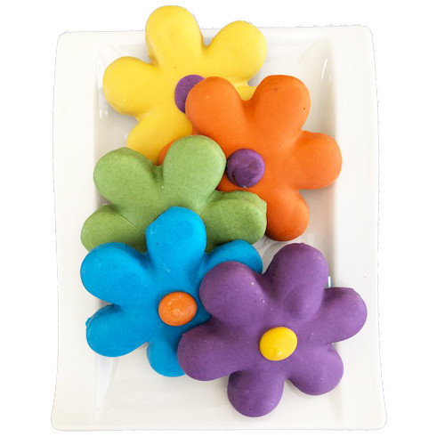 Groovy Flower Dog Treats