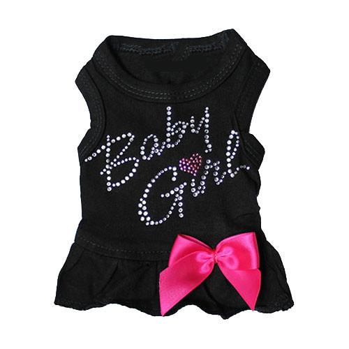 Baby Girl Tank Dress | Black