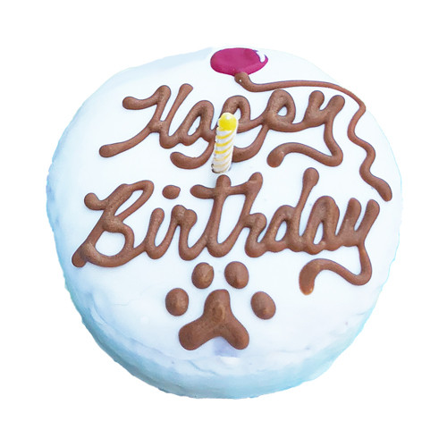 Dog Birthday Cake | Small Round