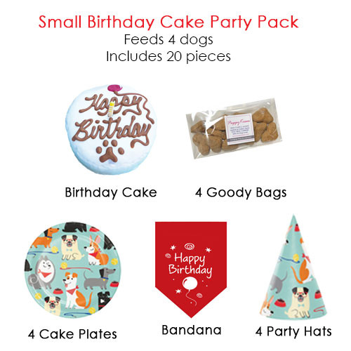 Small Birthday Cake Party Pack